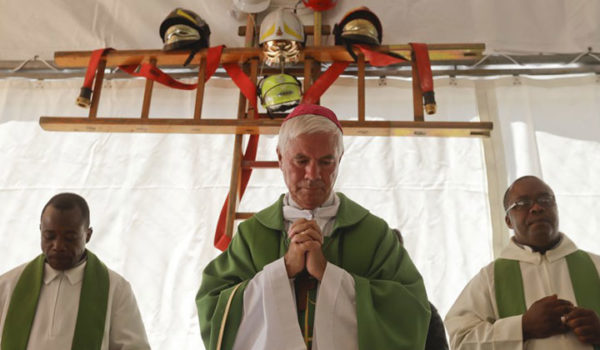 Prima Santa Messa nella nuova Chiesa di Pescara del Tronto