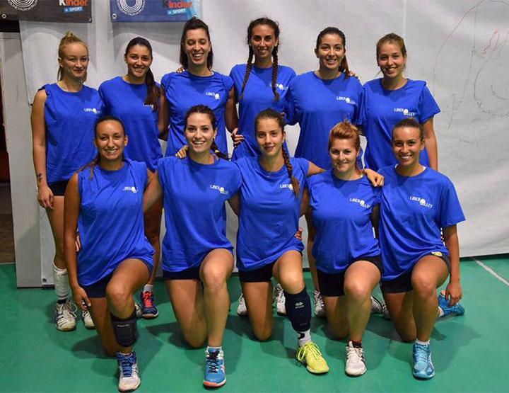 La Libero Volley vince 3-1 contro la Maga Game in Coppa Marche