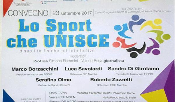 """""""Lo sport che unisce"""" con Giovanni Palombieri"""