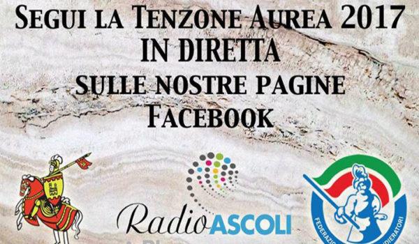 La Tenzone Aurea 2017 in diretta su Radio Ascoli in Tv!