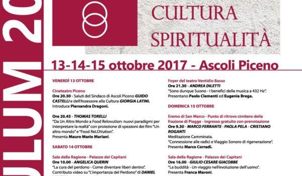 ASCULUM, un weekend tra spiritualità,  natura e cultura