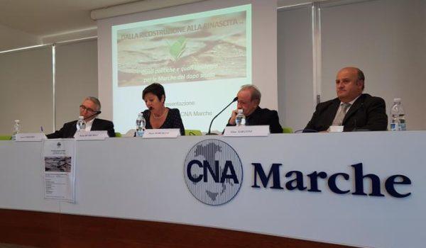 Cna, scomparse 483 imprese cratere Marche