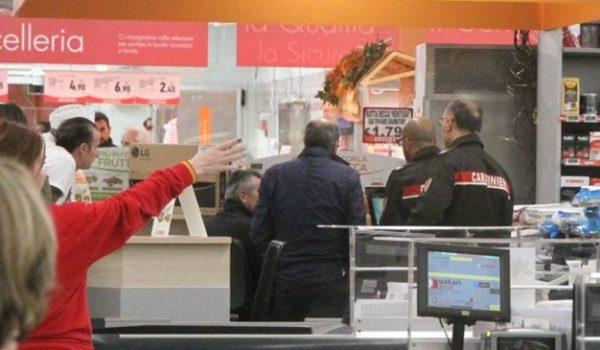 Rapina in supermercato a San Benedetto del Tronto