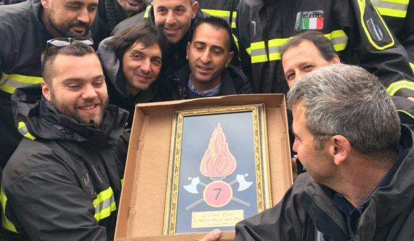 I vigili del fuoco ascolani in udienza dal Papa