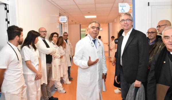 Nuovo reparto geriatrico all'ospedale di San Benedetto
