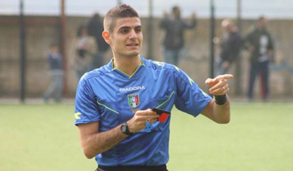 Mario Perri di Roma sarà l'arbitro contro i Nerostellati