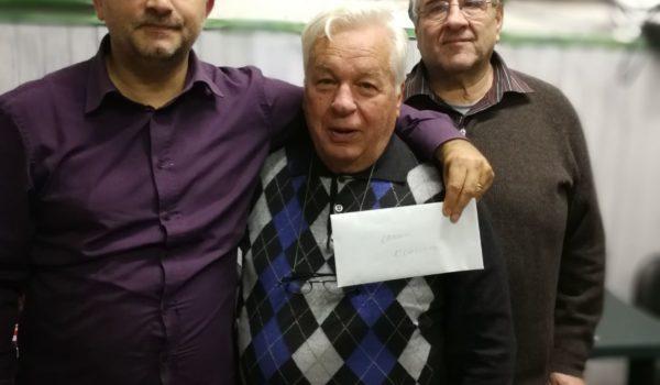 Giancarlo Catalucci è il campione provinciale singolo di burraco