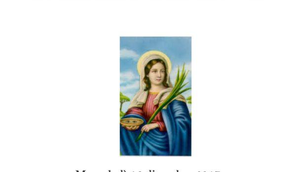 """San Benedetto:Dodicesima tappa del progetto """"gli intinerari della fede""""con la camminata di S.Lucia"""