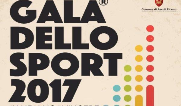 Galà Dello Sport 2017: diretta su Radio Ascoli in Tv