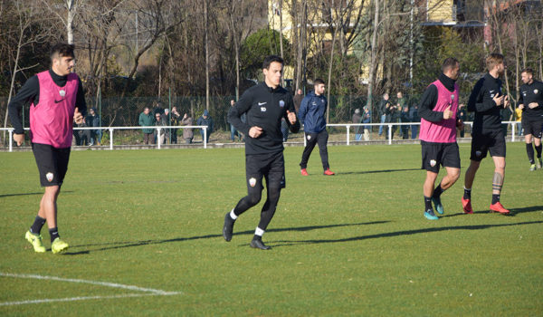 Varela e Gigliotti con il gruppo