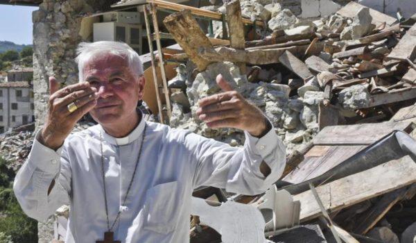 """Post elezioni, Mons.D'Ercole: """"Dopo ogni terremoto bisogna ricostruire"""""""