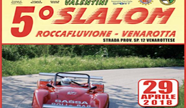 Torna lo Slalom Roccafluvione-Venarotta