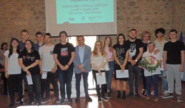 Olimpiadi dell'inglese: premiati i migliori studenti del Piceno