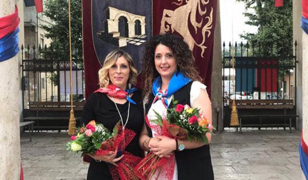 Sestiere Porta Romana, presentate le Dame Iuliana e Katia