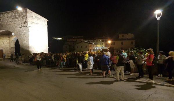 """""""Salute in cammino ascoli"""" organizzato dall'Unione sportiva Acli Marche"""
