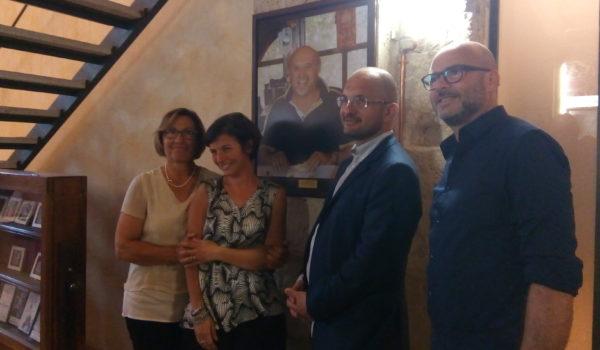 Giacinto Federici torna a casa: la sua foto nella sala della Quintana