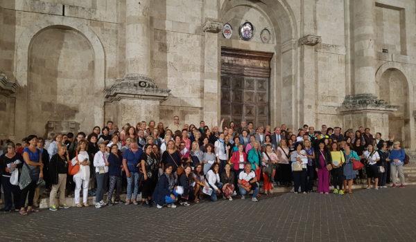 """Ospiti illustri alla serata dedicata a Papa Niccolo IV nell'ambito del progetto """"Salute in cammino Ascoli"""