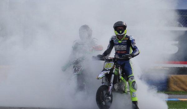 Kevin Sabatucci campione della Pitbike GP Elite