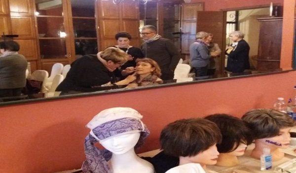 GRANDE SUCCESSO DELL'EVENTO RIVOLTO A DONNE IN TERAPIA ONCOLOGICA