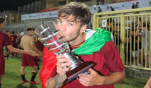 Arriva il giovane Meo: classe 2001, ha vinto il campionato italiano Under 17 con la Roma