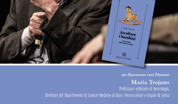 LIBRERIA LA RINASCITA: LUIGI CANCRINI presenta ASCOLTARE I BAMBINI