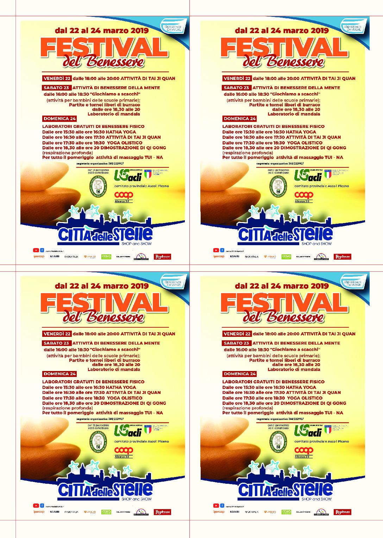CENTRO COMMERCIALE CITTÀ DELLE STELLE AP: FESTIVAL DEL BENESSERE