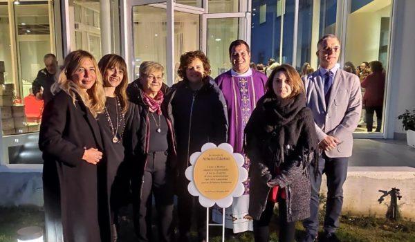 Santo Stefano Ascoli: nuovo giardino con giochi in memoria del dr. Giattini