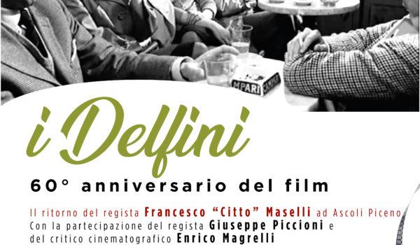 """Lo storico Caffè Meletti di Ascoli Piceno  celebra i 60 anni del film """"I Delfini"""" di Citto Maselli e  inaugura il Premio """"Caffè Meletti Prestige"""""""