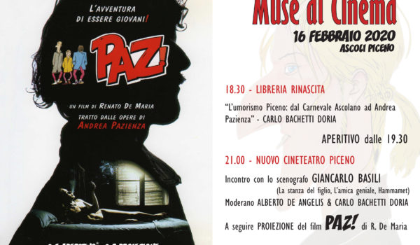 "PER ""MUSE AL CINEMA"": PAZ!"