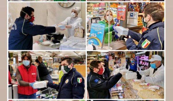 La rete della spesa solidale: inizia oggi la distribuzione di mascherine