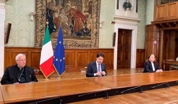 Dal 18 maggio celebrazioni con il popolo: firmato il Protocollo