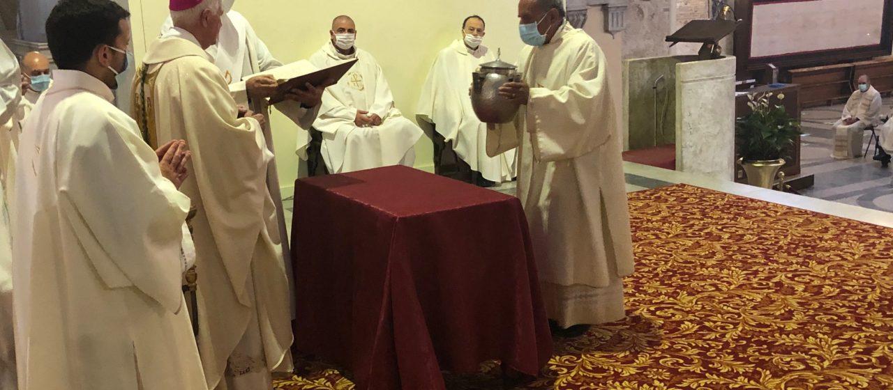 Celebrata in Cattedrale la Messa Crismale