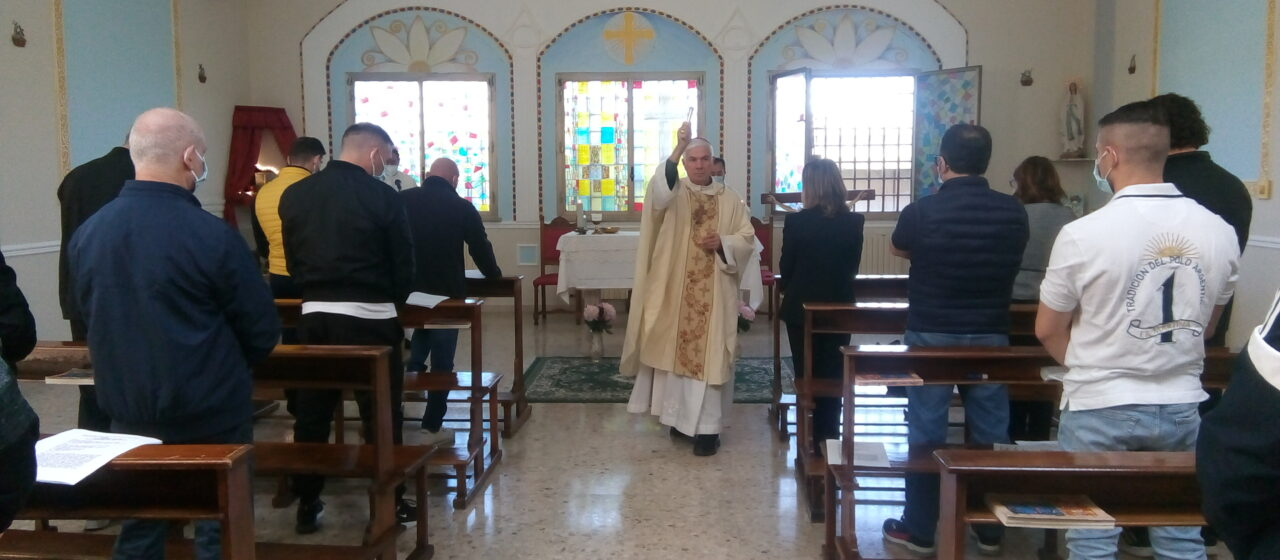 Rinnovata la Cappella della Casa Circondariale