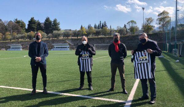 Monsignor Pompili incontra l'Ascoli Calcio
