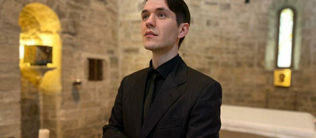 Nikos Angelis all'Istituto Italiano Antonio Vivaldi