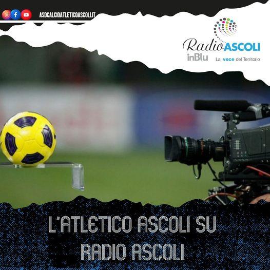 L'Atletico Ascoli su Radio Ascoli