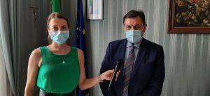 Il Prefetto Carlo De Rogatis intervistato da Veruska Cestarelli