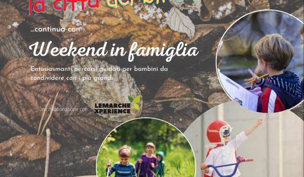 """Oggi a Realtà Locali parliamo dei """"Weekend in famiglia"""""""